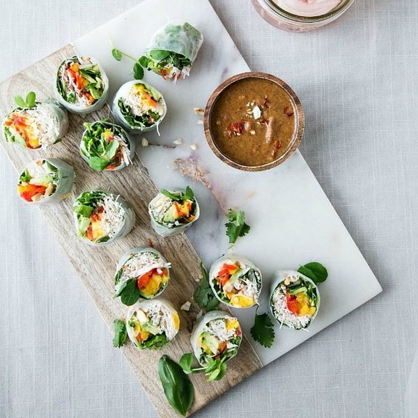 13 Colorful Spring Roll Recipes to Lighten and Brighten Meatless Monday