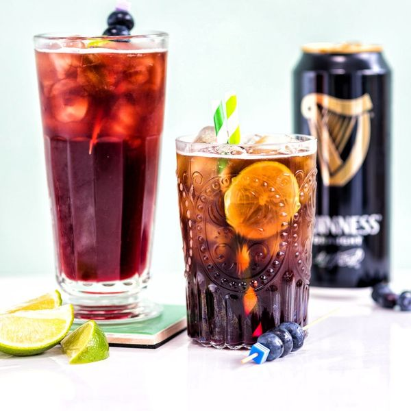 Celebrate St. Patrick's Day With a Guinness Dark and Stormy Cocktail
