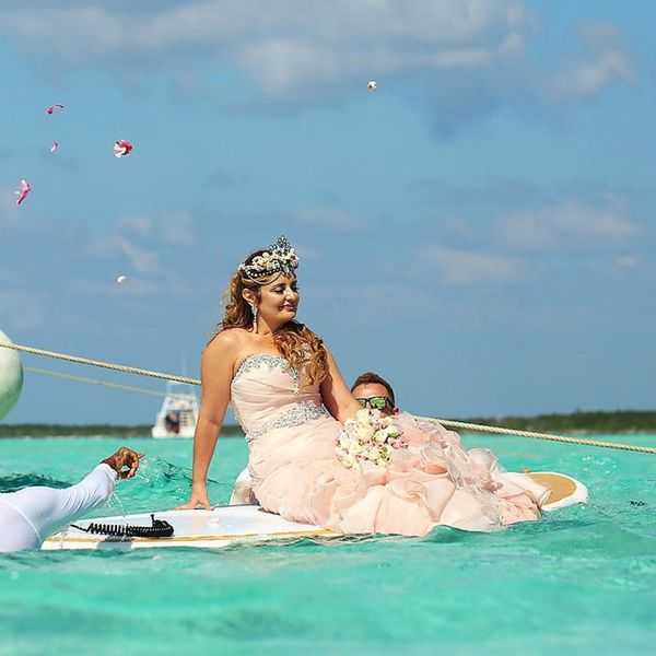 This Woman's Mermaid Wedding Throws All Other Wedding Photos Out of the Water