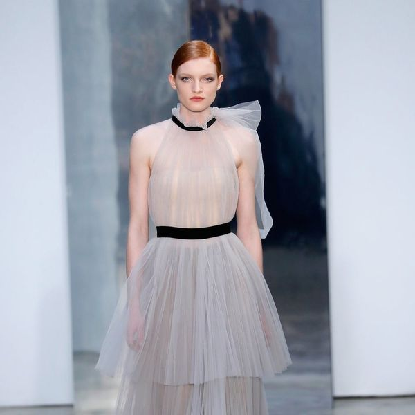 14 Runway Dresses You Could Totally Wear Down the Aisle