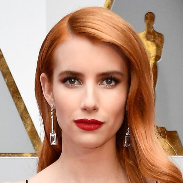Emma Roberts' New Smoky Quartz Hair Color Will Make You Want to Hit the Salon, Stat