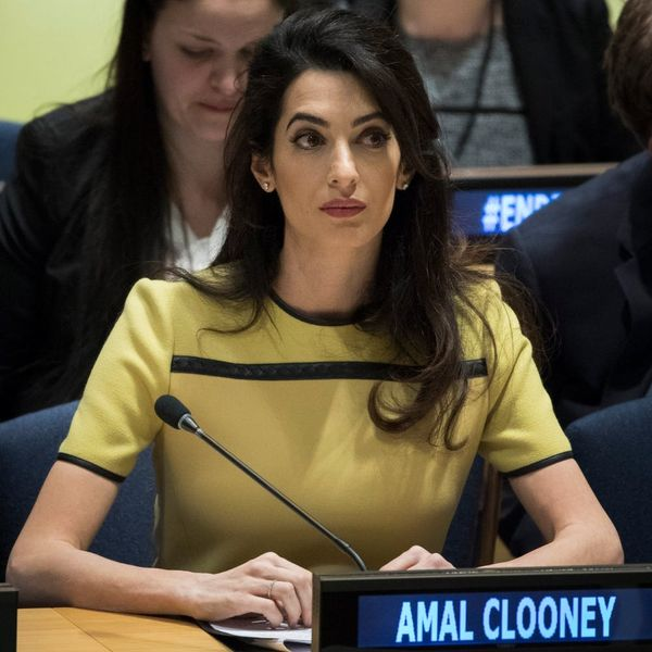 TIME's Tweet About Amal Clooney's Baby Bump Has People Seriously Upset