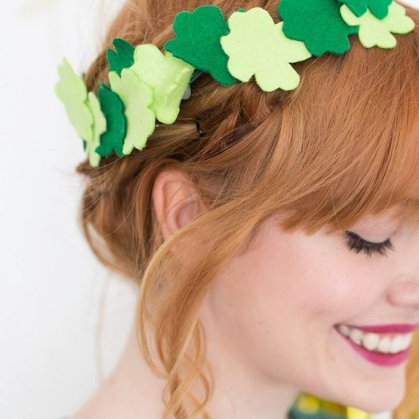 Champagne Buzzers, Clover Crowns + More DIYs to Make This Weekend