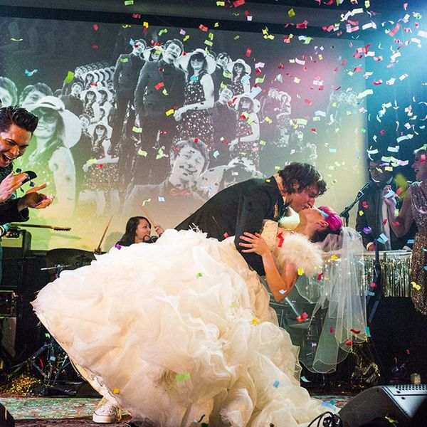 How This Couple Turned Their Wedding into an Epic Rock Opera