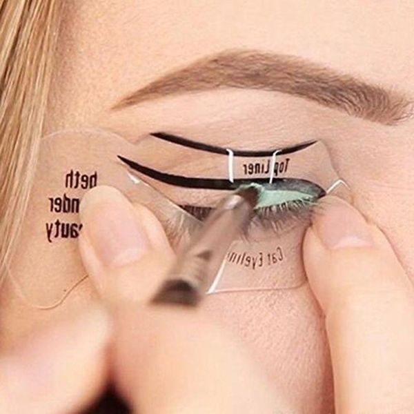 This Cat-Eye Template Will Give You Flawless Feline Flicks Every Time