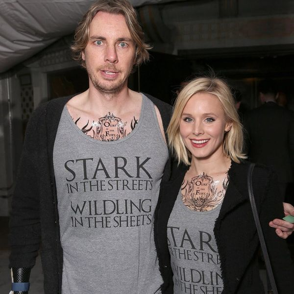 Kristen Bell and Dax Shepard Crashed the GOT Premiere in the Coolest Matching Outfits