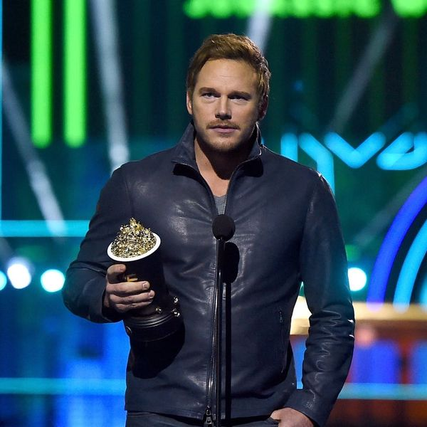 Chris Pratt's MTV Movie Awards Acceptance Speech Was Equal Parts Hilarious and Adorable