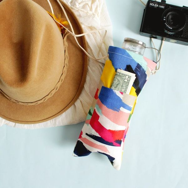 DIY This Easy No-Sew Canteen for Every Music Festival