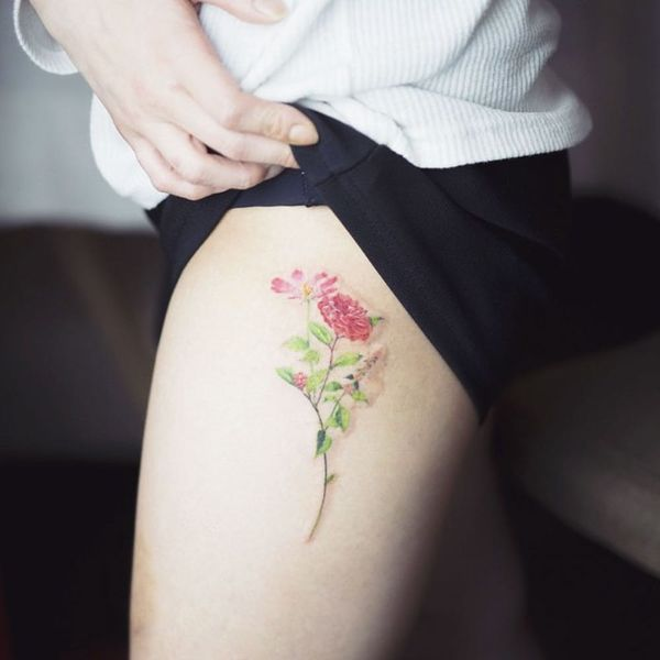 13 Gorgeous Rose Tattoos You'll Love