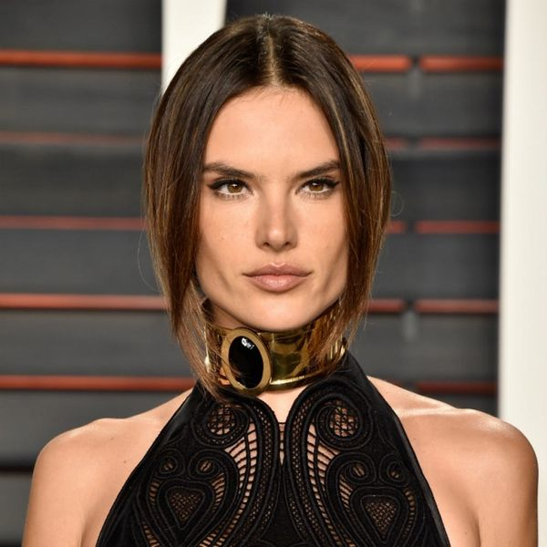 Alessandra Ambrosio Proves Supermodels CAN Eat