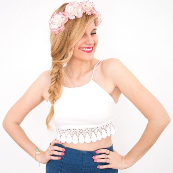 DIY This Easy Crop Top and Get Ready for Coachella