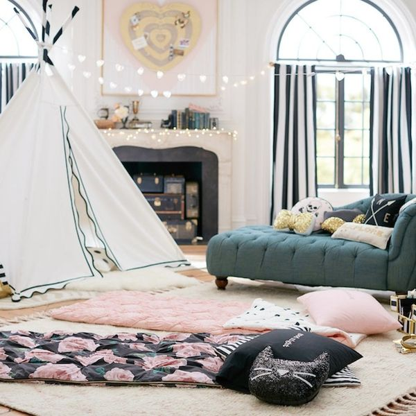This New PBteen Collection Will Make All Your Indoor Glamping Dreams Come True