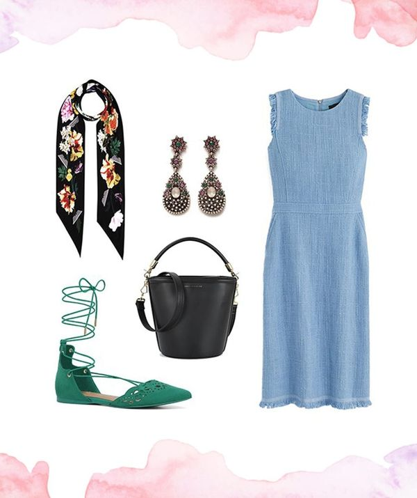 How to Wear 1 Dress to 3 Different Weddings
