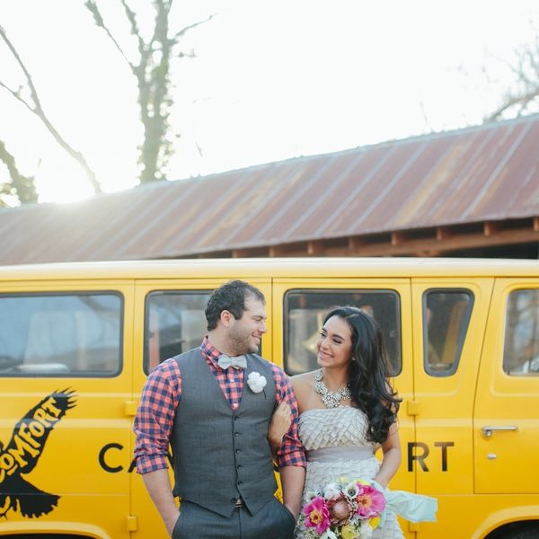 This Boho-Inspired Camp Wedding Shoot Will Make You *Swoon*
