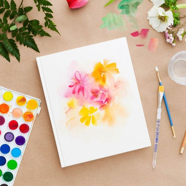 Get Inspired With This DIY Watercolor Sketchbook