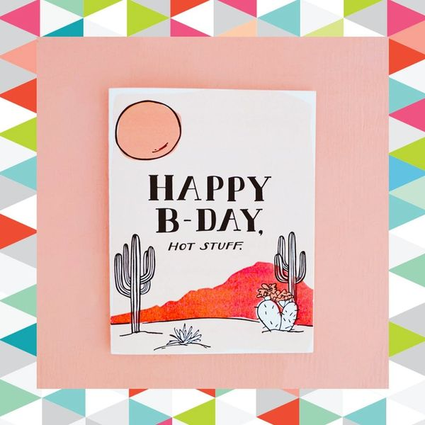 10 Bright + Colorful Birthday Cards to Send This Month