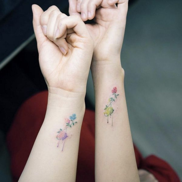 16 Best Friend Tattoos to Show Off Your Squad Love