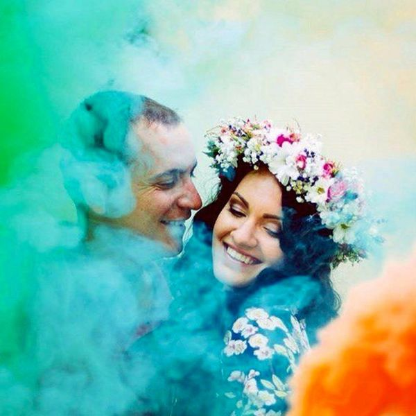 Smoke Bombs Are the Wedding Photography Trend You NEED to Try