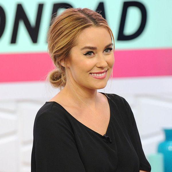 Lauren Conrad Used a Zero-Effort Hair Accessory to Upgrade Her Messy Bun