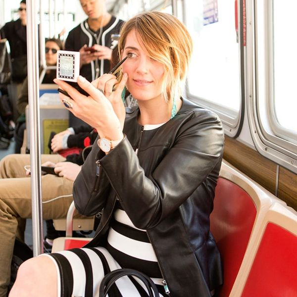 These Genius Commuter Makeup Hacks Will Save You Serious Time + Embarrassment