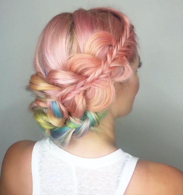 18 Rainbow Hairstyles Prettier Than an Easter Egg