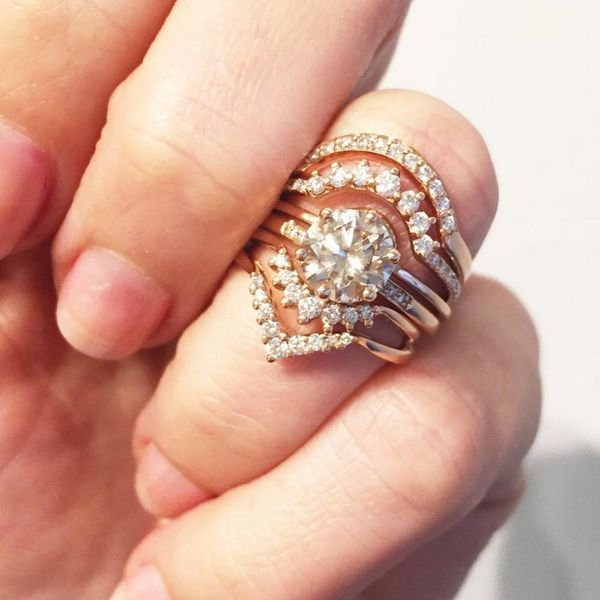 The New Wedding Ring Trend You Need to Know About