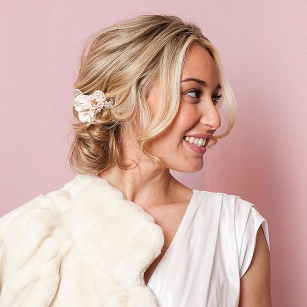 The Easy Side Bun That Will Wow at Your Wedding