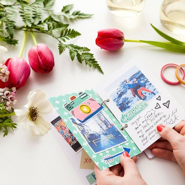 Gift This Easy DIY Scrapbook to the Bride-to-Be