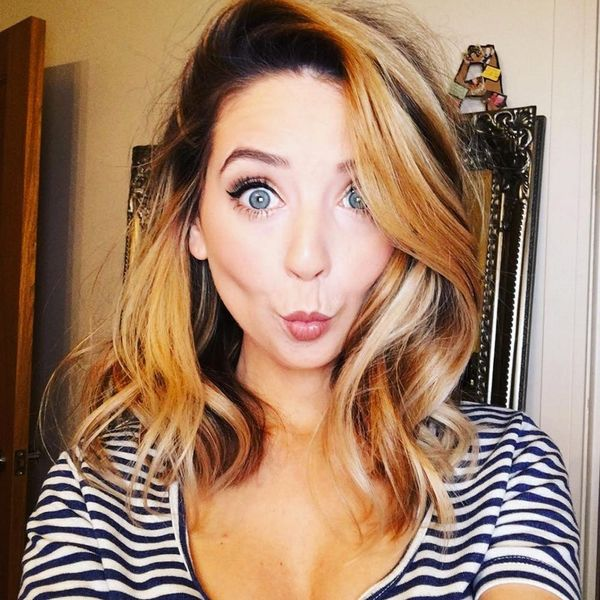 YouTube Beauty Vlogger Zoella Just Showed Us How to Make Granny Hair Look Cool