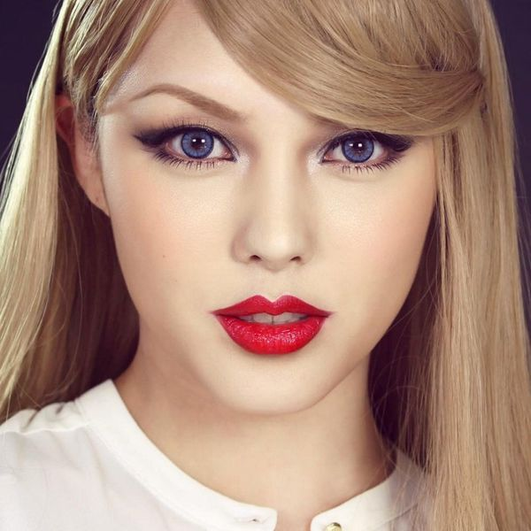This Korean Beauty Blogger's Taylor Swift Transformation Is a Must-See