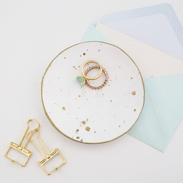 DIY a Monogrammed Ring Dish to Add a Personal Touch to Your Wedding