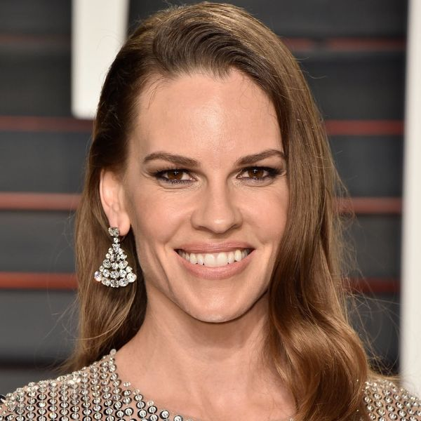 Hilary Swank's Non-Traditional Engagement Ring Is Shinier Than an Oscar