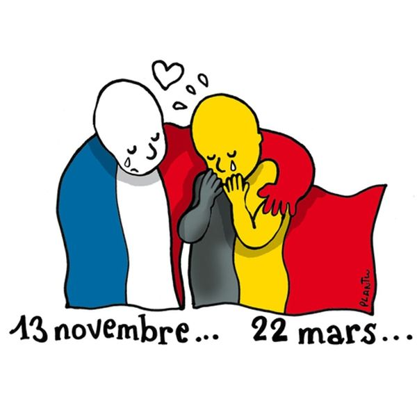 The Most Moving Brussels Attacks Art Tributes on Social Media