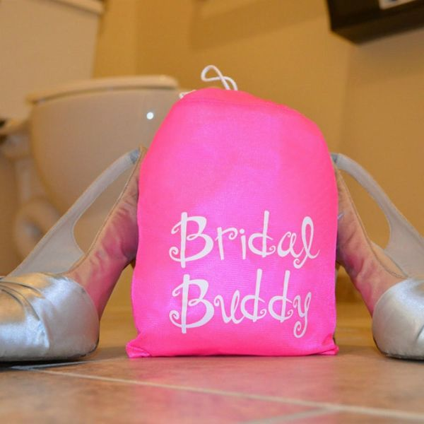 This Product Helps Brides Use the Bathroom While in Wedding Dresses