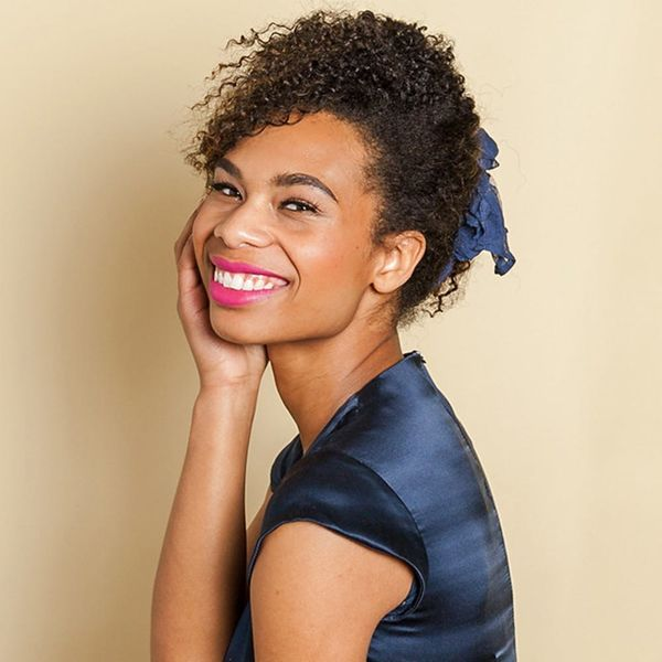 This 3-Step Bun Is Perfect for Curly Hair
