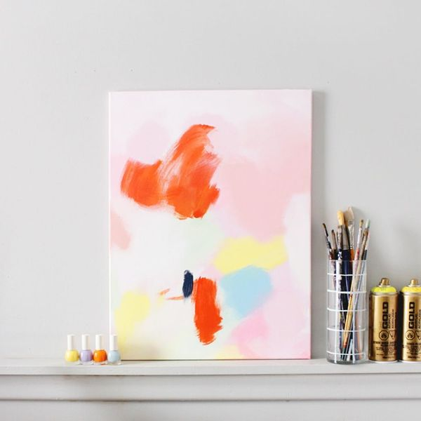 How to Make This $3600 Anthropologie Acrylic Wall Art for Next to Nothing