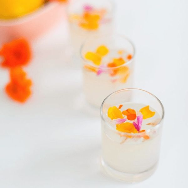 17 Floral Cocktails That Are *Almost* Too Pretty to Drink