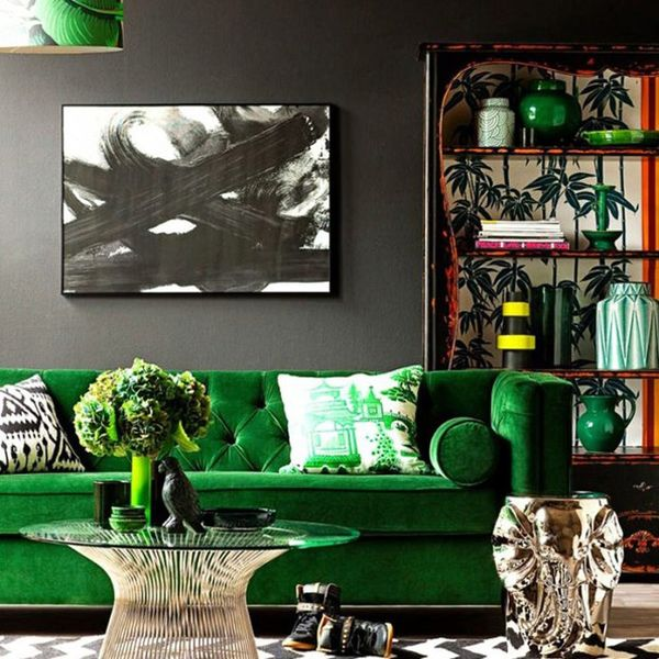 10 Green + Gold Rooms to Envy This St. Patty's Day