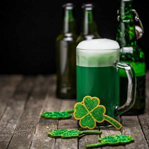 The Best Way to Make Green Beer for St. Patrick's Day