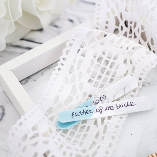 Surprise Dad With a Special Wedding Gift and DIY These Chic Collar Stays