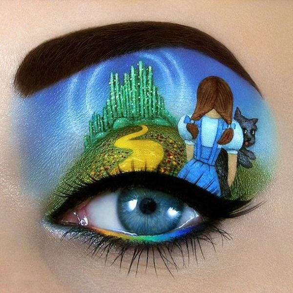 This Makeup Artist's Insane Eyelid Art Will Blow Your Mind