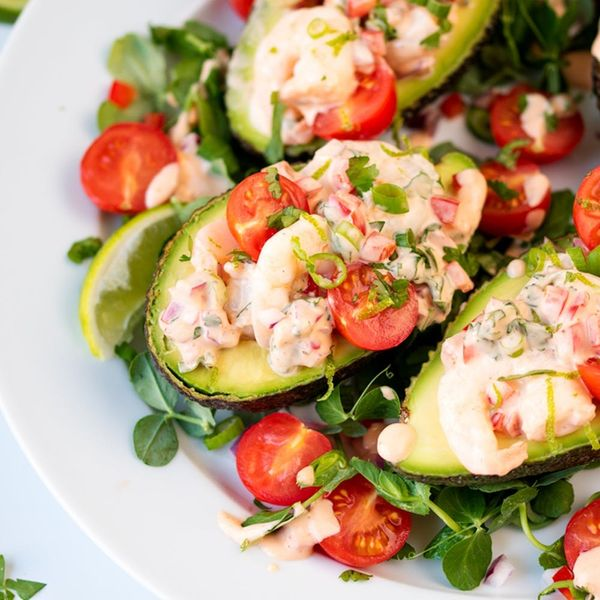 This Stuffed Avocado Recipe Makes the Best Speedy Lunch