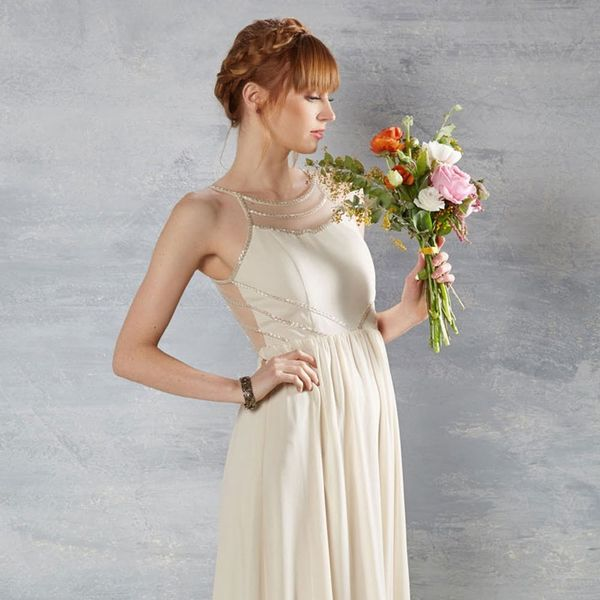 10 Affordable Wedding Dresses for Your City Hall Nuptials