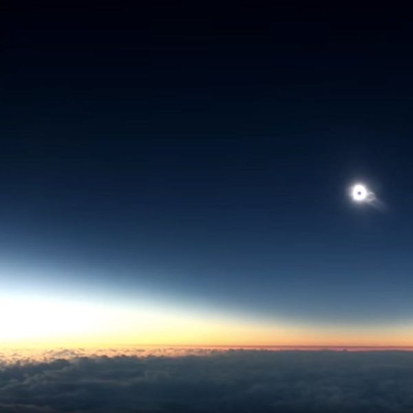 This Once-in-a-Lifetime Solar Eclipse Flight Will Inspire Your Next Art Project