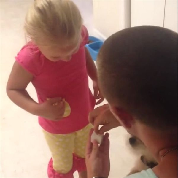 Watch This Man Adorably Propose to His Fiancé's 5-Year-Old Daughter