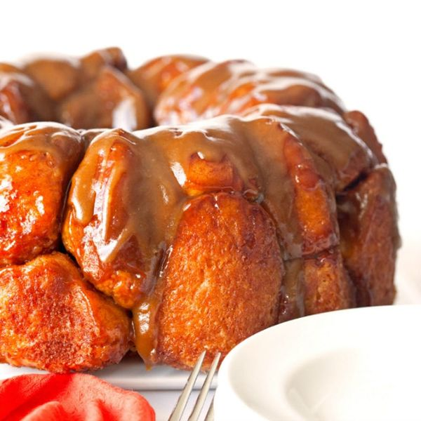 Monkey Bread With Salted Caramel Sauce
