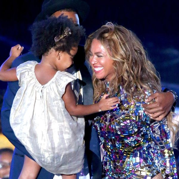 Beyoncé's Pic of Cute Blue Ivy Getting into Mom's Makeup Is All of Us