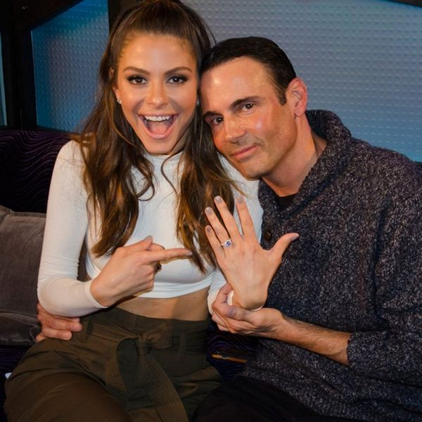 Listen to Maria Menounos Get Engaged on a Live Radio Show