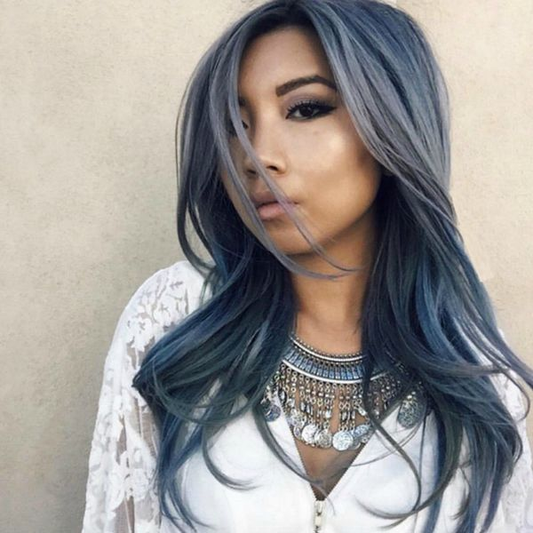 Stone-Washed Denim Hair for the Rock Goddess in All of Us