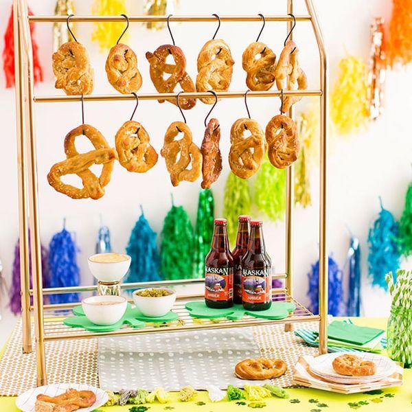 Celebrate St. Patrick's Day With a DIY Pretzel Bar
